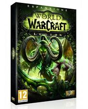 WORLD OF WARCRAFT LEGION (PC) NUOVO VERSIONE ITALIANA NEW