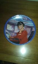 "Hamilton Collection Star Trek Series "" Uhura "" Mib Coa"