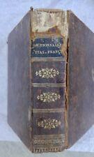 Italien Nouveau Dictionnaire Portatif Francais – Italien 1829