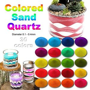 500g/0.5kg Coloured - Sand, Marble, Glass - ART CRAFT- 200 Colours/Size Options.