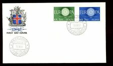 L'Islande 1960 Europa FDC #C 5812