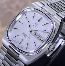 OMEGA SEAMASTER AUTOMATIC DAY&DATE CAL 1020 SILVER DIAL DRESS MEN'S WATCH