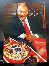 George Foreman signed PSA Authenticated