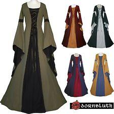Moyen Âge Carnaval Robe Tenue Costume Robe JOHANNA Léviathans Choix De Couleur