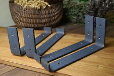 1xDIY Shelf Brackets Hangers Scaffold Shelve Mounting Industrial Stainless steel