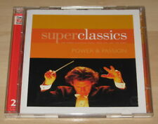 Super Classics - Power & Passion (Time Life 2CD 2004). Ex Cond