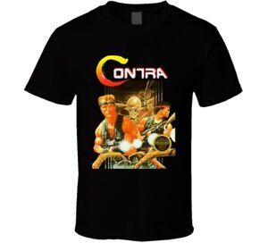 Contra Retro Nes Box Art Video Game Retro T Shirt