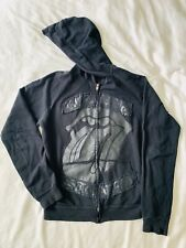 Official Rolling Stones Hoodie 2005 A Bigger Bang Tour Distressed Tongue Logo