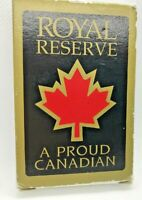 playing cards royal reserve deck proud canadian card game vintage play poker  bc