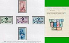 ITALY COLONIE EGEO 1934 2° CAMPIONATO MONDIALE DI CALCIO S. Ordinaria MNH** CERT