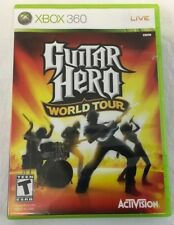 Guitar Hero World Tour Microsoft XBOX Video Game Case Only NO DISK