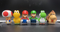 NEW Super Mario Bros BATH Toy Mini figure Yoshi Luigi Toad Donkey Kong USA
