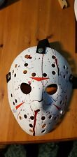 Jason voorhees Friday 13th  custom  mask with blood splatter