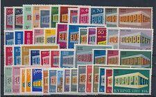 Cept Jahrgang 1969 postfrisch in den Hauptnummern kompl.........................