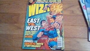 Wizard Magazine October 2002 Comic Book