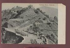 INDIA KE7 1908 RP PPC BRITISH ARMY at KAILANA NECK