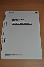 Werkstatthandbuch Reparaturleitfaden SKODA Octavia 1,6/ 55kW Motor, Mechanik