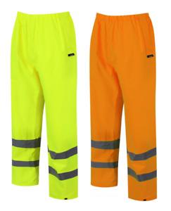 Traega TTR07 Alta Visibilidad 300D Overtrousers Clase 1 Premium Sobre Pantalones