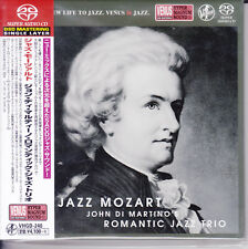 """John Di Martino's Romantic Jazz Trio Jazz Mozart"" Japan Venus Records SACD New"