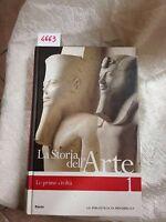 la storia dell'arte volume 1 le prime civiltà