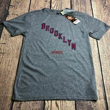 CCM Adult Small Brooklyn Americans Tri Blend Gray Tee T Shirt New