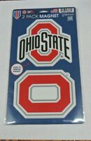OHIO STATE BUCKEYES DIE CUT MAGNETS HIGH QUALITY FREE SHIPPING SAME DAY