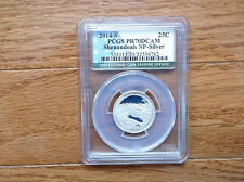 2014 S 25C Silver Shenandoah NP Quarter PCGS PR70DCAM