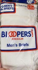 New listing Bloopers Mens Briefs Irregular Fruit Of The Loom Size L 38-40 Nos new