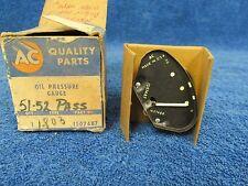 1951-52 CHEVY BELAIR  OIL PRESSURE GAUGE   NOS AC 416