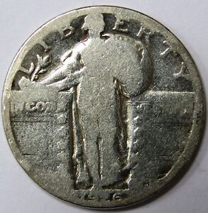 C002-90 # UNITED STATES | STANDING LIBERTY, 1/4 DOLLAR, 1926, SILVER WT:5.81, G