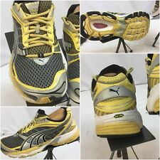 Puma Ventis Sz 11.5 Women Yellow Black Running Shoes EUC YGI J7
