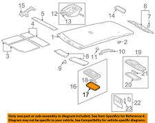TOYOTA OEM Interior-Roof-Lens 8124112020