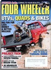 Four Wheeler - 2008, August - UTV's Quads & Bikes, How To Build a Yamaha Rhino