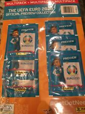 Euro 2020 Panini Preview 6 Sticker Set Multipack