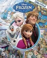 Disney Frozen Look And Find Book