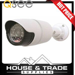 Q-SEE Security Camera Realistic Dummy Decoy W/ Flashing Red LED QSA78
