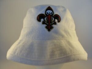 New Orleans Pelicans NBA Mitchell & Ness Bucket Hat Size S/M White