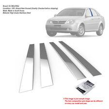 Stainless Steel Chrome Window Pillar Molding 4Pcs For CHEVROLET 2005-2007 Optra