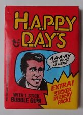 Unopened Pack 1976 Happy Days Series 2 TV Show Cards ~ Ron Howard Henry Winkler