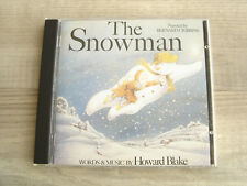 soundtrack CD 1980s tv movie film THE SNOWMAN childrens *EX+* xmas HOWARD BLAKE