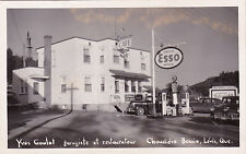 RP: ESSO Gas Station , Chaudiere Bassin , Levis , Quebec , Canada , 30-40s