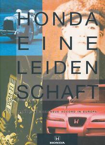 HONDA - EINE LEIDENSCHAFT. Honda und der neue (Honda) Accord in Europa. (1993)