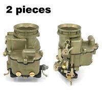 "Holley 94 Flathead Model Carburetor Ford Mercury V8 239 - 272"" Cid Engine 2 pcs"