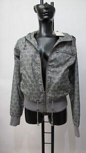 BLEND SHE Regen Wind Damen Polyester Kapuzen-Jacke Zip-Hood Neu mit Etikett grau