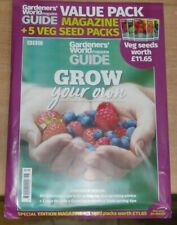 BBC Gardeners World Magazine Guide Grow Your Own With 5 Vegetable Seed Packets