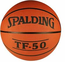 NBA SPALDING TF-50 Official Game Ball Ultra-Durable Rubber Size 7 Indoor 6 Panel