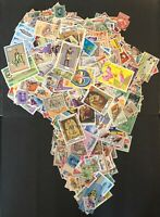 A Collections of 50 Vintage Finest USED World Stamps: Choose a Country/Continent