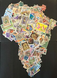 A joblot of 50 Finest USED Vintage World Stamps: Choose a Country or Continent