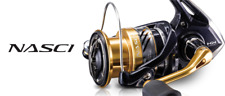 Shimano Nasci Spinning Reel All Sizes Full Range Coarse Match River Fishing