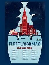 "Fleetwood Mac 2013 16"" x 12"" Photo Repro Tour Poster"